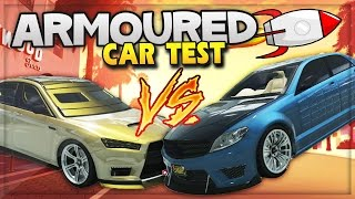 getlinkyoutube.com-GTA 5 DLC Update! New Armoured Cars Crash Test, Bomb & Bullet Proof Cars (GTA 5 ONLINE Gameplay)