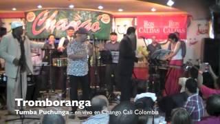 Tromboranga, Tumba Puchunga en vivo en Chango Cali COlombia, canal oficial salsa