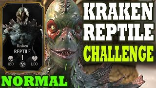 getlinkyoutube.com-Kraken Reptile Challenge NORMAL. EPIC BATTLE and UNDERESTIMATED BOSS!