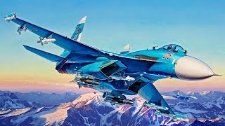 FULL VIDEO BUILD REVELL SUKHOI Su-27SMK Flanker