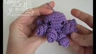 getlinkyoutube.com-Tutorial Pulpo Octopus Amigurumi (English Subtitles)