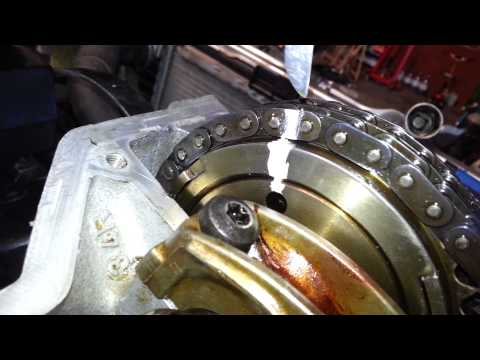 Mercedes SLK230, M111, timing chain