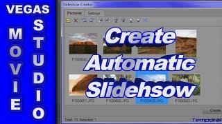 getlinkyoutube.com-How to use the Slideshow Creator in Sony Vegas Movie Studio