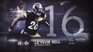 getlinkyoutube.com-#16 Le'Veon Bell (RB, Steelers) | Top 100 Players of 2015