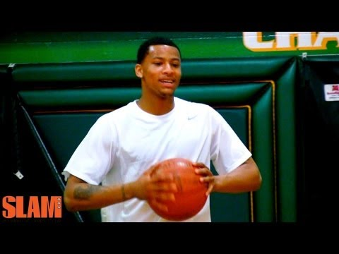 Trey Burke 2013 NBA Draft Workout - Projected Top 5 Pick - Michigan Wolverines
