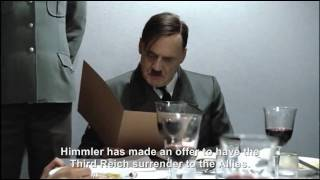 Hitler is informed Himmler has been negotiating with the Allies