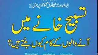 getlinkyoutube.com-Tasbeeh Khana Main Aana Walo K Kaam Q Hota Hai Hakeem Tariq