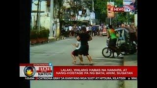 SONA: Lalaki, walang habas na namaril at nang-hostage pa ng bata; anim, sugatan