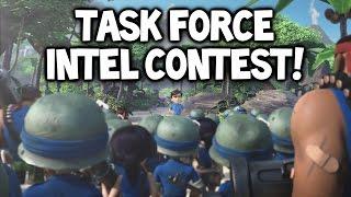 getlinkyoutube.com-Boom Beach ★ $25 TASK FORCE INTEL CONTEST! ★ All Zooka Task Force Operation Attack!