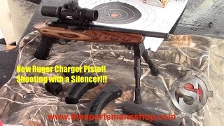 getlinkyoutube.com-Ruger Charger 22 LR Pistol - Shooting the Charger Suppressed!!