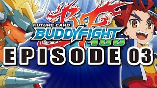 getlinkyoutube.com-[Episode 3] Future Card Buddyfight Hundred Animation