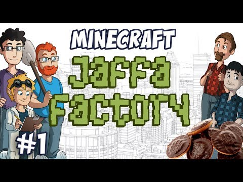 Tekkit Part 1 - Jaffa Cake Factory Planning