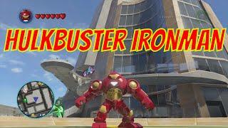 getlinkyoutube.com-LEGO Marvel Superheroes - Iron Man Hulkbuster Armor Location and Gameplay