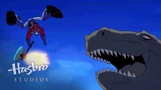 getlinkyoutube.com-Transformers: Animated - The Dinobots