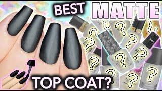 getlinkyoutube.com-Best MATTE top coat for nails?!