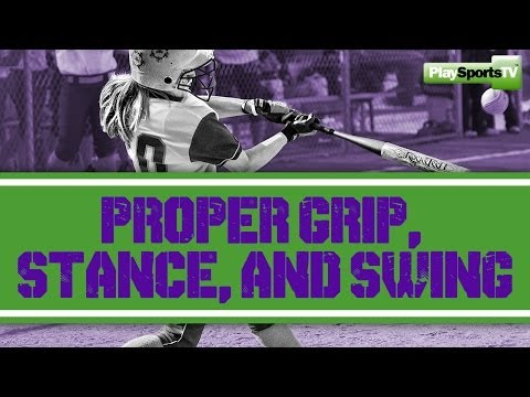 Softball Hitting: Proper Grip, Stance and Swing