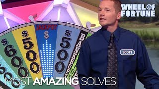 Wheel of Fortune: Top Five Most Amazing Solves!