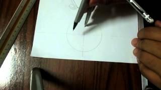 getlinkyoutube.com-طريقة رسم الخماسي و السداسي داخل و خارج دائرة .. Eng. Amin Elsofey