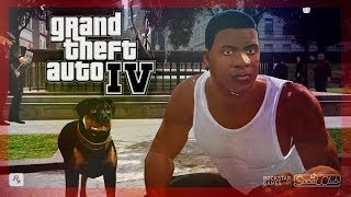 Franklin and Chop in GTA IV [MOD]