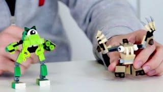 getlinkyoutube.com-Party Animal Party Mix - LEGO Mixels - Designer challenge 1