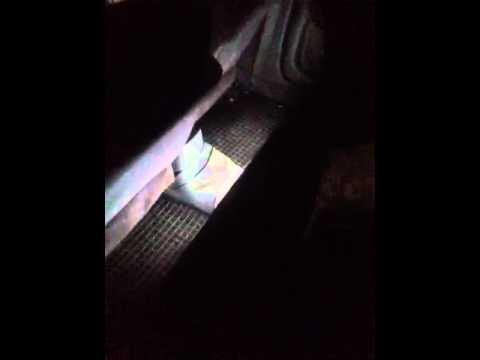 Подсветка ног салона Kia spectra