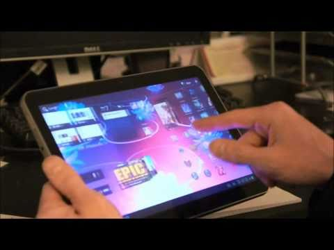 One day with The New Samsung GALAXY Tab 10.1