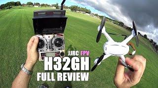 getlinkyoutube.com-JJRC H32GH FPV - Full Review - [UnBox, Inspection, Setup, Flight Test, Pros & Cons]