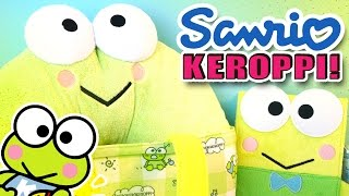 getlinkyoutube.com-Sanrio Keroppi Surprise Box - Kawaii Goodies!! - 산리오 케로피 캐릭터 - けろけろけろっぴ