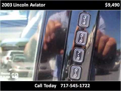 2003 Lincoln Aviator Used Cars Harrisburg PA