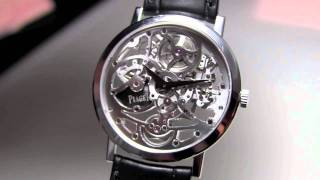 Piaget - Altiplano Automatic Skeleton
