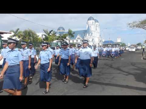 Daily Parade of Police - Samoa