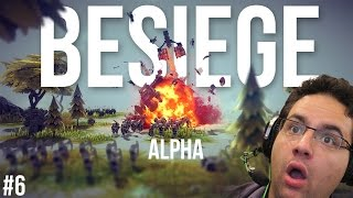 LA FAIL CATAPULTE! | Besiege alpha