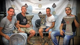 getlinkyoutube.com-Our New Darbuka Team - Best Doumbek Solo We have Recorded