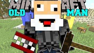 getlinkyoutube.com-Minecraft: I AM AN OLD MAN! (BINGO CARDS, DENTURES, CANES, & MORE!) Mod Showcase
