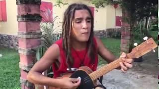 Reggae One Man Band sings Bob Marley's hits width=