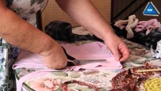 getlinkyoutube.com-Как связать коврик крючком из тряпок своими руками