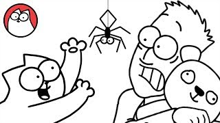 Spider Cat - Simon's Cat (Halloween Special)   COLLECTION
