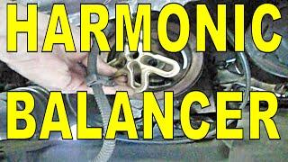 getlinkyoutube.com-HARMONIC BALANCER vibration dampener CRANKSHAFT PULLEY gm 3.1 3.4 3.8 Buick Chevy Olds Pontiac cars