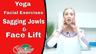 getlinkyoutube.com-Yoga Facial Exercises : How to Lose Sagging Jowls : Natural Face Lift - VitaLife Show 164