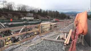 TRANS CANADA HWY IMPROVEMENT PROJECT PORT MANN BRIDGE MAR 26 2011 SURREY.m4v