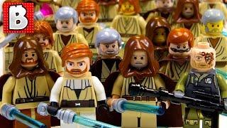 getlinkyoutube.com-Every Lego Obi-Wan Kenobi Ever!!! + Rare Light-Up Lightsaber Obi-Wan | Lego Collection