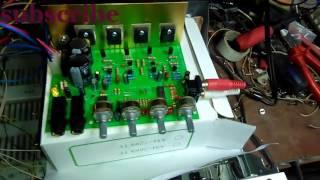 getlinkyoutube.com-Kit amplificator 2x100W - Proba Audio (MIVAROM)