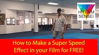 getlinkyoutube.com-How to Create a Super Speed Effect for FREE in Hitfilm 4 Express!