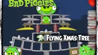 getlinkyoutube.com-Bad Piggies - Magic Flying Christmas Tree