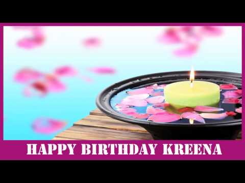 Kreena   Birthday Spa