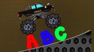 getlinkyoutube.com-Monster Truck | Monster Truck Alphabets | Learn Alphabets