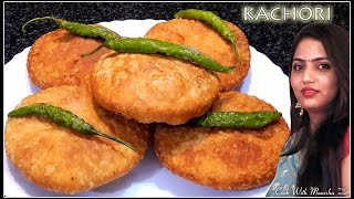 getlinkyoutube.com-Khasta Kachori Recipe|Namkeen Moong Dal Khasta Kachori |Crispy Moong Dal Kachori recipe by manisha