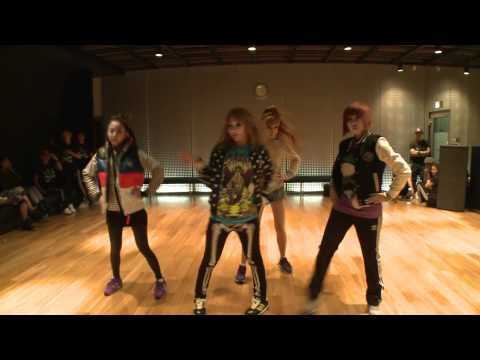 [DANCE] 2NE1 - I AM THE BEST- Choreography Practice (Uncut Ver.)