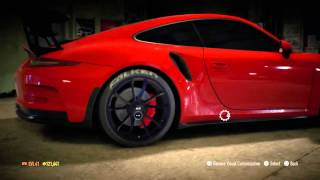 getlinkyoutube.com-Need for Speed 2015 Porsche 911 GT3 RS (991) 2015 Build (Drift) #1
