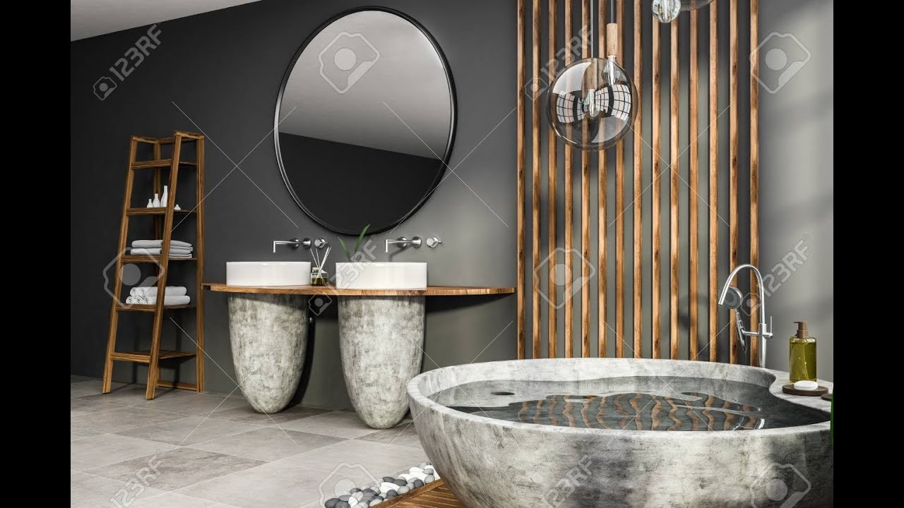 Round Modern Bath, features and functionality